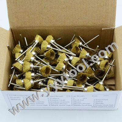 Brass Wire Cup Brushes