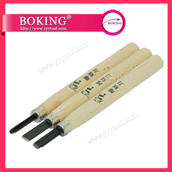Wood Cut Knife set of 3pcs