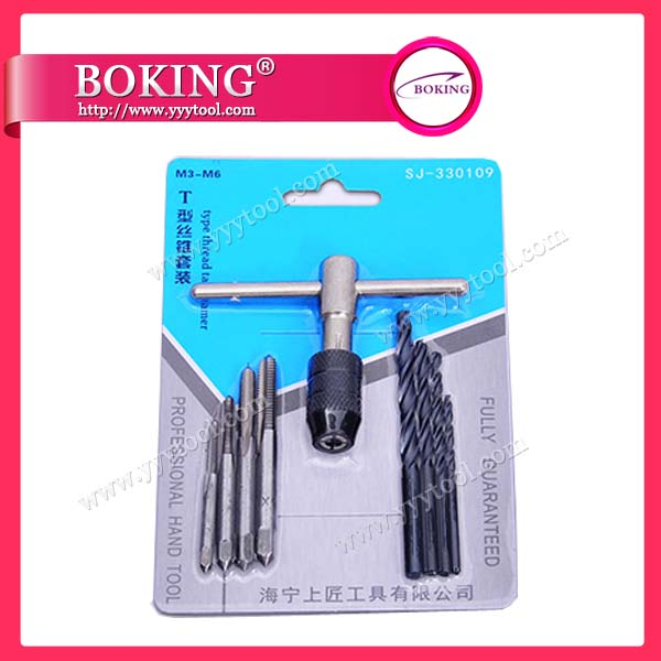 Tap and Die set of 9pcs