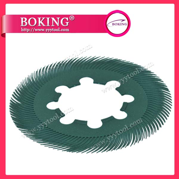 200mm Radial Bristle Brush