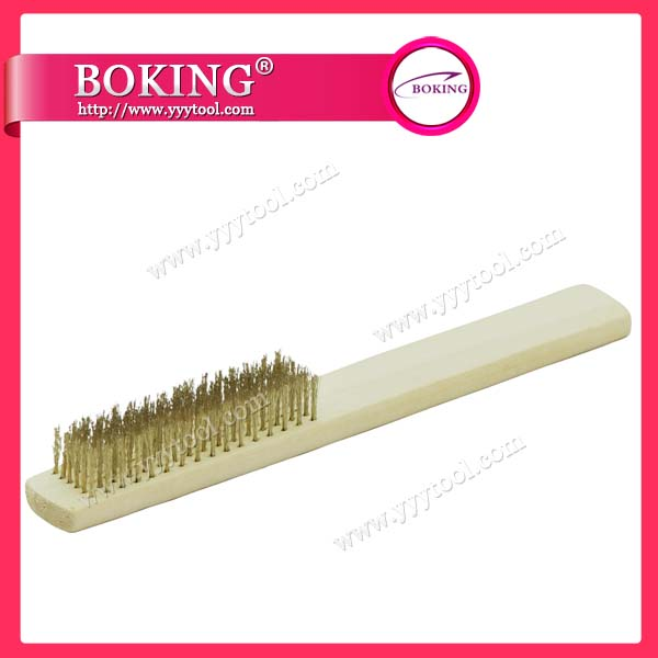 Crimped Brass/Steel Brush