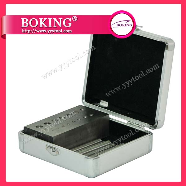 Flat Steel Dapping Block Set of 15pcs