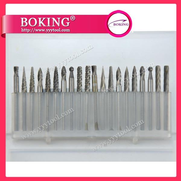 ¢3X¢3mm Tungsten Carbide Burs Set