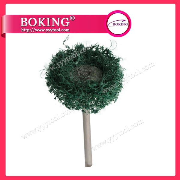 Green Non-woven Brush
