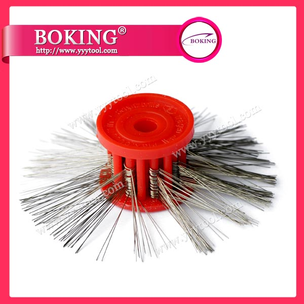 Matt wire brush
