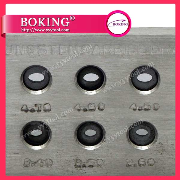Oval Shape Tungsten Carbide Drawplate