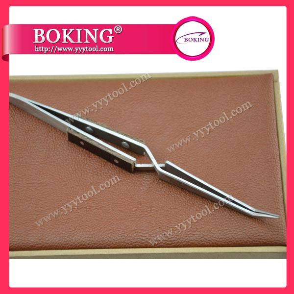 Stainless Steel Cross-Lock Tweezers