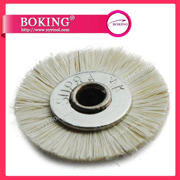 Unmounted Goat Hair Wheel Brush