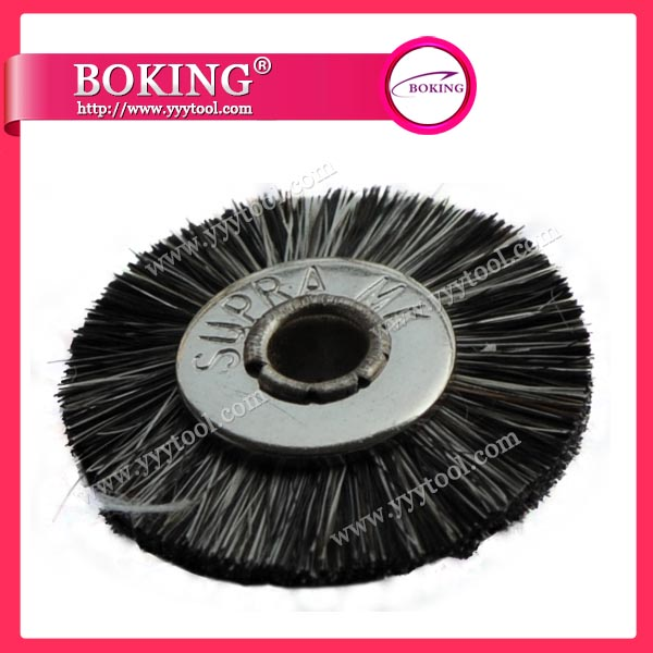 Unmounted Gray Goat Hair Wheel Brush