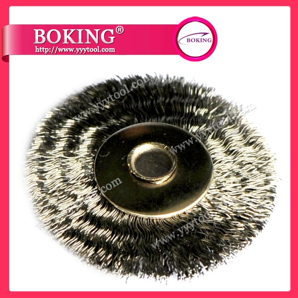 Unmounted Steel Wheel Brush