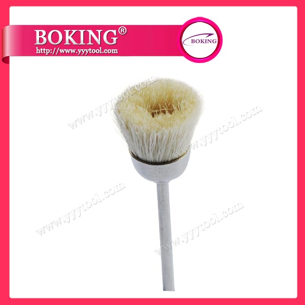 White Goat Hair Cup Brush